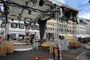 Der Mühlenplatz in Luzern war bereits Schauplatz für eine SRF-Liveübertragung anlässlich der Sendung SF bi de Lüt 2011. (Bild: Archiv / Neue LZ)