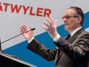 Dätwyler-Chef Paul Hälg kann auf ein erfolgreiches erstes Halbjahr zurückblicken. (Archiv) (Bild: Keystone/WALTER BIERI)
