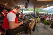 Die Sitterntalbueben am Heirassa-Festival im Jahr 2016. (Bild: Dominik Wunderli)