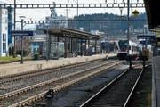 Im Bahnhof Emmenbrücke kam es Dienstag zu einer Stellwerkstörung. (Archivbild Dominik Wunderli / Neue LZ)