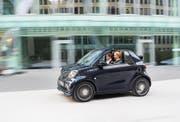 Die neuen Smart-Brabus-Modelle sind nicht nur flink, in der High-End-Ausstattungsvariante «BrabusXclusive» wirken sie besonders sportlich elegant. Bilder Werk
