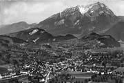 Eine Luftaufnahme von Stans. (Bild: pd / Otto Wyrsch)