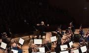 Die Festival Strings Lucerne im KKL, geleitet von Piotr Anderszewski. (Bild Peter Fischli/LF (Luzern, 26.11.2017))