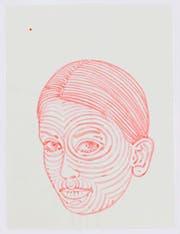 Frauenkopf gezeichnet von Alex Hanimann. (Bild: PD)