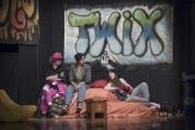 Szene aus Romeo und Julia an der Kanti Willisau (Bild: Pius Amrein (Willisau, 17. Oktober 2017))