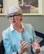 Neu an der Spitze der Caritas: Yvonne Schärli. (Bild: Nadia Schärli (Littau, 26. April 2017))