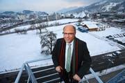 Der Krienser Baudirektor Matthias Senn. (Bild: Philipp Schmidli / Neue LZ)