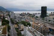 Die Zeit für Solitärbauten, die den Ort definieren, wie hier der Parktower in der Stadt Zug, ist wohl schon wieder vorbei. (Bild: Stefan Kaiser)