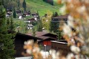 In Sörenberg – im Bild das Quartier Hinter-Schöniseistrasse – liegt der Anteil an Zweitwohnungen bei weit über 60 Prozent. (Bild Pius Amrein)