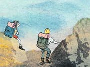 Catherine Meurisse zeichnet die Expedition einer Rückkehr zur Normalität nach dem Terror. (Bild: PD (Ausschnitt))