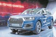 Elektrisch: der Audi Q7 e-tron quattro. (Bild: Keystone)