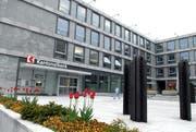 Der Hauptsitz der Nidwaldner Kantonalbank in Stans. (Bild Fabian Fellmann/Neue NZ)