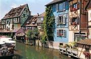 «Petite Venise»: Colmar zeigt sich im «Klein Venedig» genannten Viertel von seiner besonders malerischen Seite.