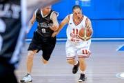 Das Originalbild entstand 2011 an den Special Olympics World Games in Athen. Nun ziert es eine Sondermarke der Post. (Bild: Photopress/Alexandra Wey)