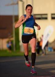 Karin Peter auf der Sprintstrecke (Bild: PD)