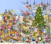 Frohes Fest! Wir wünschen unseren Leserinnen und Lesern besinnliche Weihnachtstage. (Bild: Illustration: Feluce Bruno, Luzern)