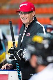 Seit Samstag neuer Trainer von Fribourg-Gottéron: Larry Huras. (Bild: Keystone / Anthony Anex)