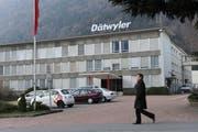 Der Hauptsitz der Dätwyler AG in Altdorf. (Bild: Urs Hanhart / Neue UZ)