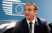 Heute in einer Woche empfängt Frankreichs Präsident Macron Bundespräsidentin Leuthard. (Bild: Getty)
