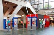 Die neuen Billettautomaten können viel mehr als Tickets herausgeben. Zum Beispiel lassen sich Monatsabonnemente lösen und verlängern.