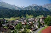Blick auf das Dorf Engelberg. (Bild: Corinne Glanzmann/Neue LZ)
