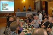 Generalversammlung der Nidwaldner Bauern. (Bild: Richard Greuter/Neue NZ)