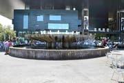 der Wagenbachbrunnen beim KKL (Bild Simon Bordier)