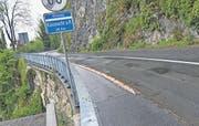 Die Forstegg liegt ausgangs Gersau in Richtung Vitznau. Die Strasse ist kurvenreich und soll ausgebaut werden. (Bild Andreas Seeholzer)