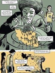Illustrator Zac Deloupy findet für die Schilderungen beklemmende Bilder. (Bild: Splitter-Verlag)