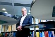 Der Zuger Finanzdirektor Heinz Tännler: «Kurzfristig sind schätzungsweise 95 Prozent der Kosten im Kantonsbudget gebundene Aufgaben». (Bild: Stefan Kaiser)