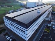 4000 Quadratermeter gross ist die Fotovoltaikanlage bei der Galliker Transport AG. (Bild: PD)