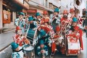 Die Kleinformation Fortissimo in ihrem Gründungsjahr 1973 beim Grendel. (Bild: pd)