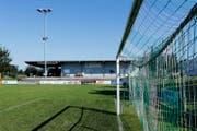 Die Fussballanlage Eschfeld in Steinhausen. (Bild: Stefan Kaiser)