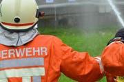 Die Feuerwehr bei der Arbeit. (Symbolbild) (Bild: Archiv Neue SZ)