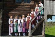 Ehrendamen am Luzerner Kantonalen. (Bild: PD)