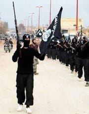 Auch Internet-Propaganda – im Bild ein IS-Video – will der Aktionsplan etwas entgegensetzen. (Bild: AP)