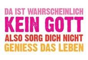Die Freidenker-Werbung, die jetzt auf Plakaten realisiert wurde. (Bild pd)