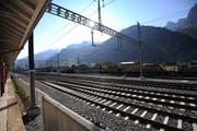 Der Bahnhof in Altdorf soll zum Kantonsbahnhof werden. (Bild: Urs Hanhart / Neue UZ)