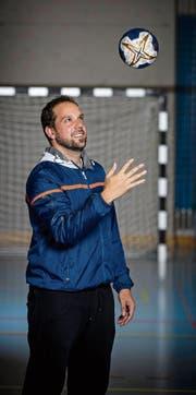 Der 35-jährige Spanier Vicente «Ike» Cotrina Cabal in der Eichli-Halle von Stans. (Bild: Philipp Schmidli (19. September 2017))