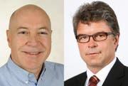 Heinz Krummenacher (links) und Marcel Moser. (Bild: PD)