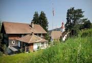Das Hotel Hergiswald über Kriens. (Bild Pius Amrein/Neue LZ)