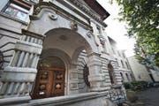 Das Stadthaus in Luzern. (Bild: Boris Bürgisser, 14.10.2014)