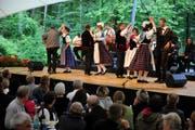 Die Obwaldner Bödälär am Volkskulturfest Obwald 2013. (Bild: Corinne Glanzmann / Neue OZ)
