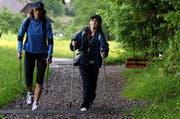 Nordic Walken erfreut sich einer immer grösseren Beliebtheit. (Archivbild Neue LZ)