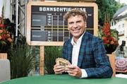 Dani Müller schaut beim «Donnschtig-Jass» zum Rechten. (Bild: PD)