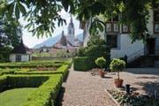 Garten des Ital-Reding-Haus in Schwyz (Bild: PD / Felix Jungo)