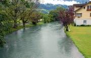 Die Suche nach einer Hochwasserschutz-Lösung an der Sarneraa geht weiter. (Archivbild Robert Hess/Neue OZ)
