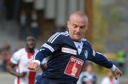 Der mit sieben Toren beste Torschütze des FCL wartet noch auf seinen ersten Treffer 2015: Marco Schneuwly. (Bild: Martin Meienberger /)