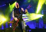 Die Musik von Slayer mit Gitarrist Kerry King (51) ist laut und extrem schnell. Die Texte sind meist voller Wut. (Bild: Ethan Miller (Getty Images))