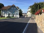Die neu asphaltierte Strasse durch Entlebuch. (Bild: PD)
